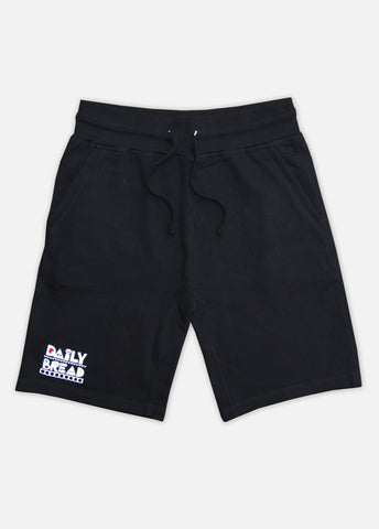 MOOSH SWEAT SHORTS - BLACK/PRIMARY