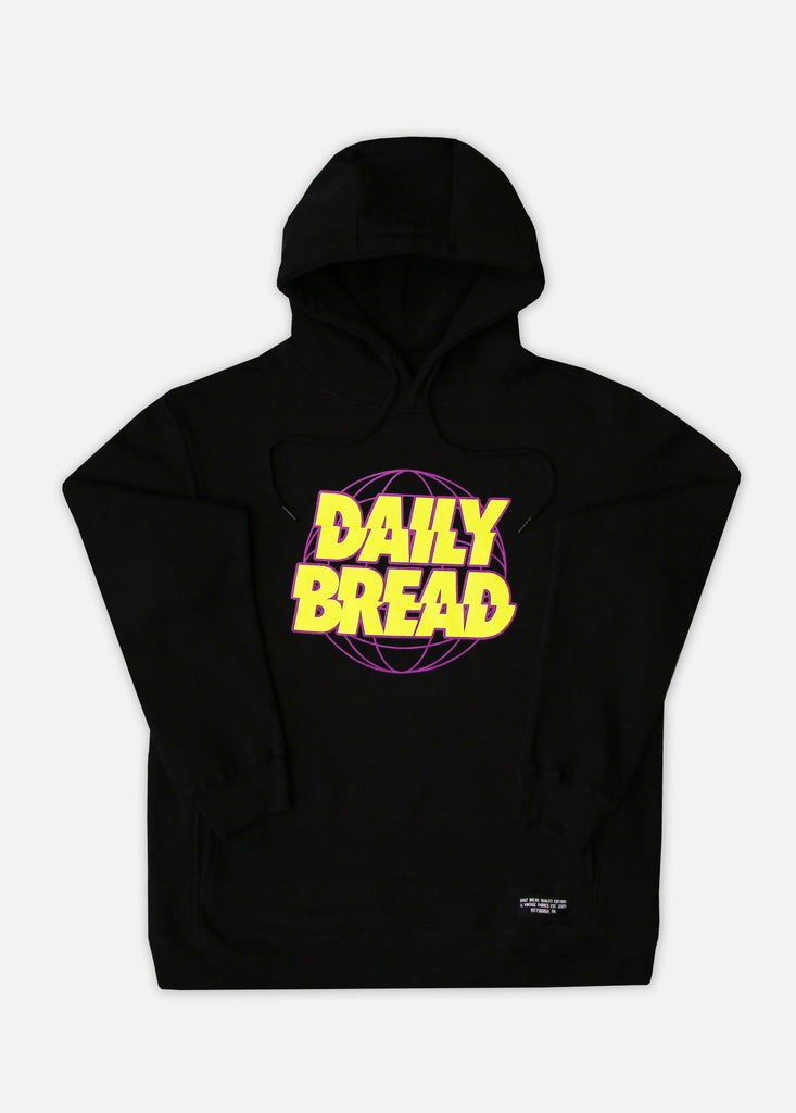 DB GLOBAL HOODIE - BLACK/VOLT