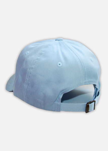 MOOSH HAT - LIGHT BLUE/WHITE