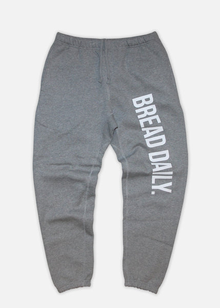 BREAD DAILY SWEATPANTS - HEATHER GREY