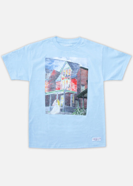 BRIDE'S ROW TEE - LIGHT BLUE