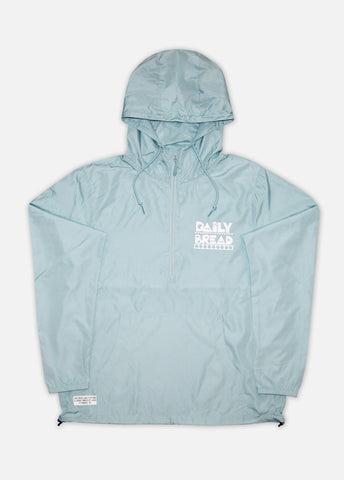 MOOSH ANORAK JACKET - AQUA