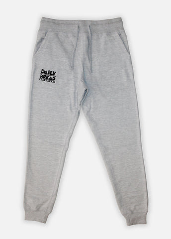 Moosh Joggers - Heather Grey/Black