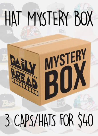 Mystery Box: 3 Caps/Hats