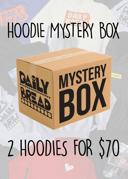 Mystery Box: 2 Hoodies/Sweatshirts