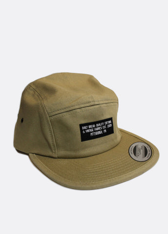 Quality Cottons 5 Panel - Khaki