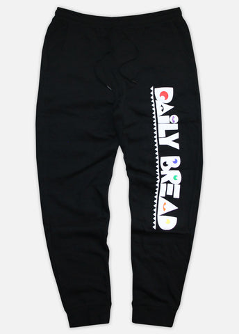 PRIMARY MOOSH JOGGERS - BLACK