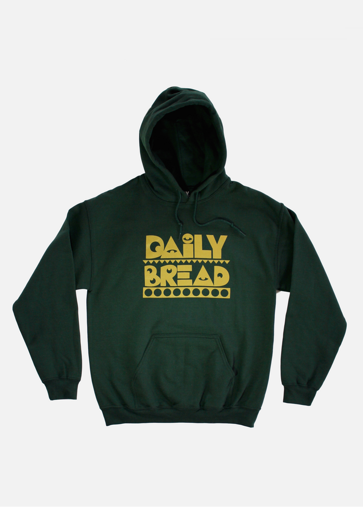 Moosh Hoodie - Gold/Green