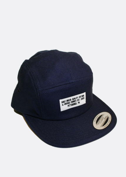 Quality Cottons 5 Panel - Navy