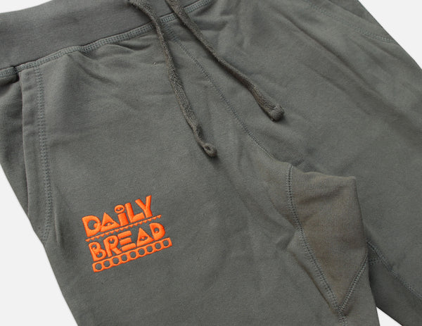 Moosh Joggers - Military Green/Orange