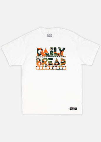 MOOSH TEE - ORANGE CAMO