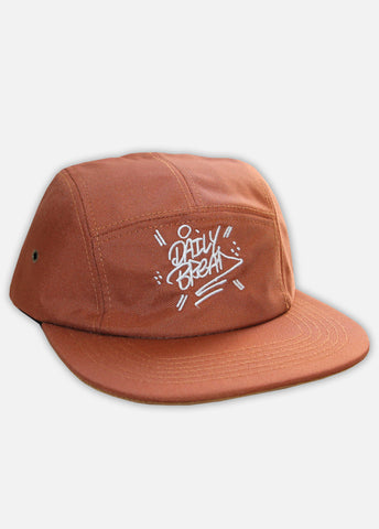 STACKED CONTRAST 5-PANEL - BURNT ORANGE
