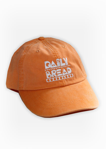 MOOSH PIGMENT DYED 6-PANEL - ORANGE/WHITE