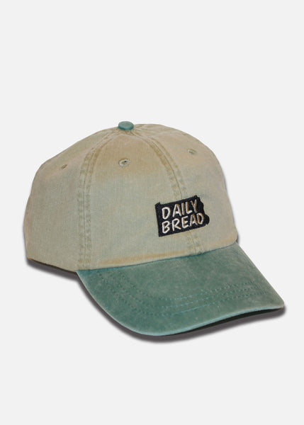 State Pigment Dyed 6-Panel - Khaki/Forest Green