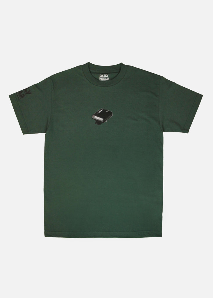 PAGER TEE - FOREST GREEN