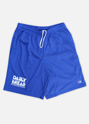 MOOSH CHAMPION MESH SHORTS - ROYAL