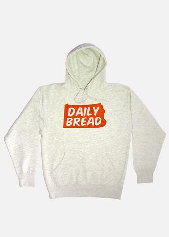State Hoodie - Orange/Cream