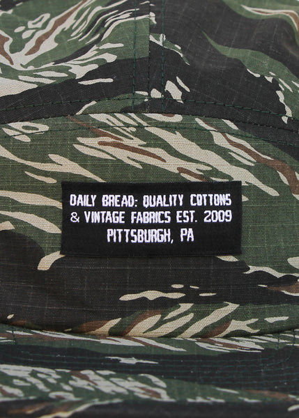 QUALITY COTTONS 5 PANEL - TIGER CAMO