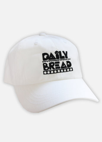 MOOSH HAT - WHITE/BLACK