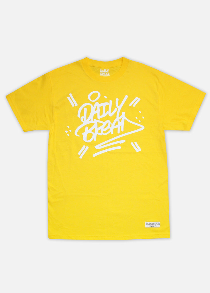 STACKED TEE - YELLOW
