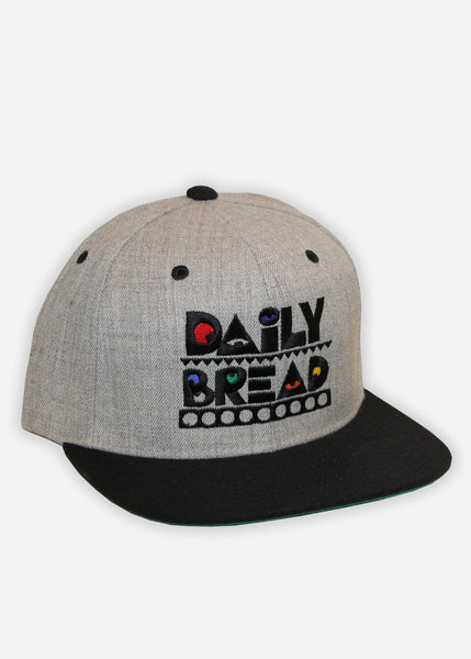 PRIMARY MOOSH SNAPBACK - HEATHER GREY