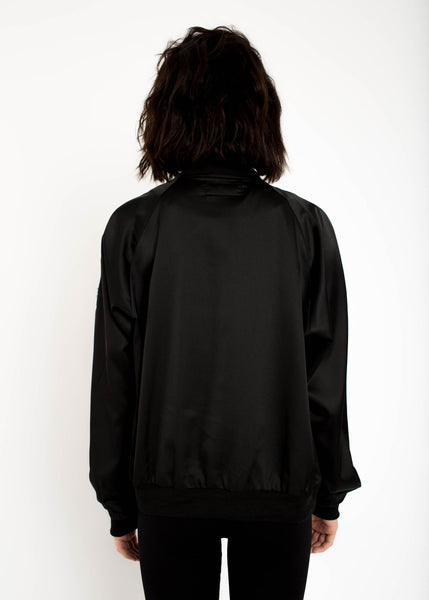 Libertine Satin Bomber - Black