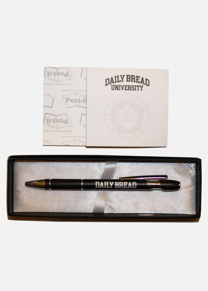 DAILY BREAD UNIVERSITY PEN/POST-IT NOTES SET