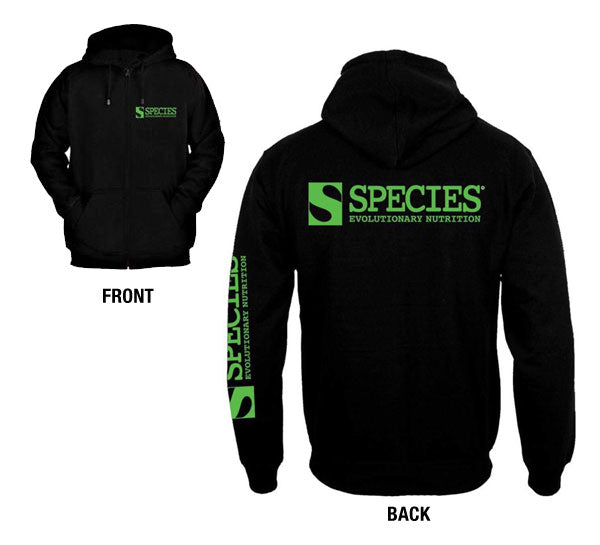 Men's Species Zippered Hoodie