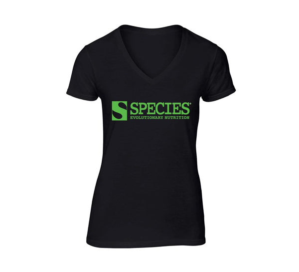 Women's Square Logo Species V-Neck