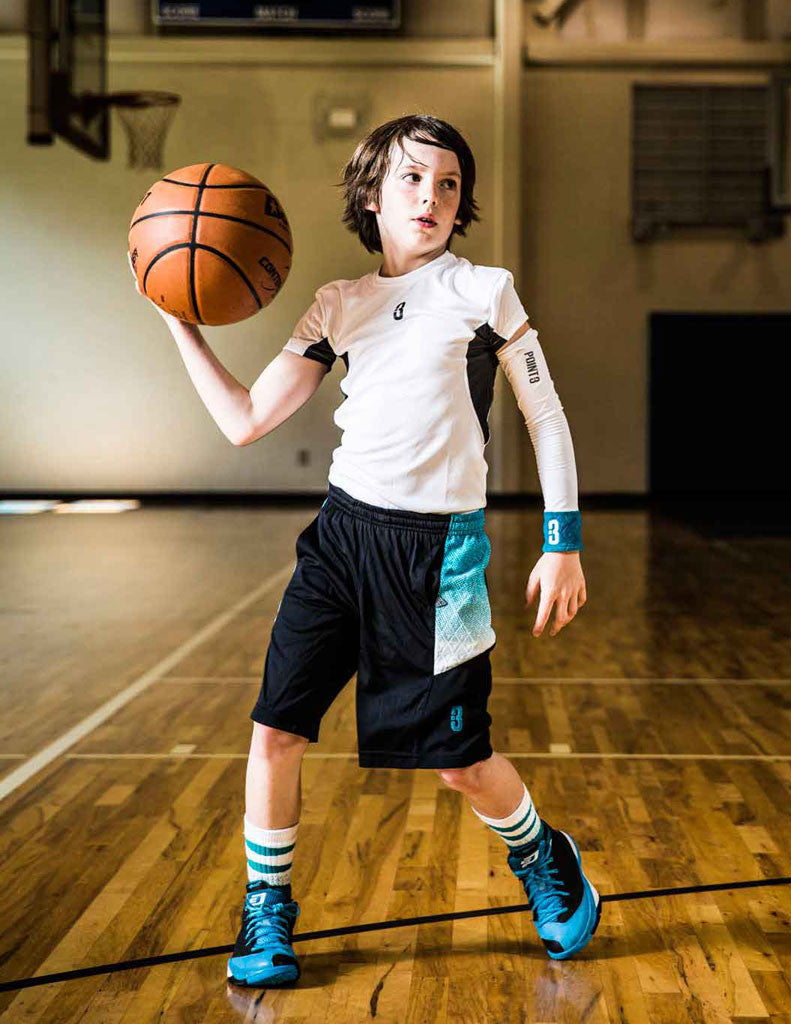 Youth Shooter Lt Lightweight Shooting Sleeve Point 3 Basketball