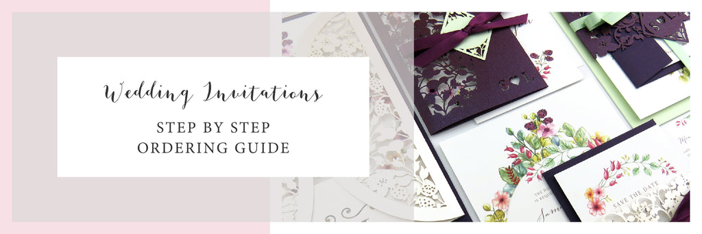 Country Brambles Wedding Invitation Order Guide