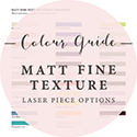 Matt Fine Texture Card Colours