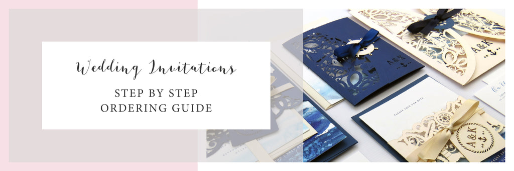 Nautical Wedding Invitation Order Guide