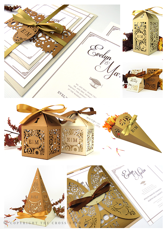 Steampunk Alternative Wedding Inspiration | The Cross-Eyed Fox Wedding Stationery Design