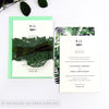 Botanical Wedding Invitation A6 Belly Band