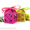 Bold Geometric Personalised Favour Boxes