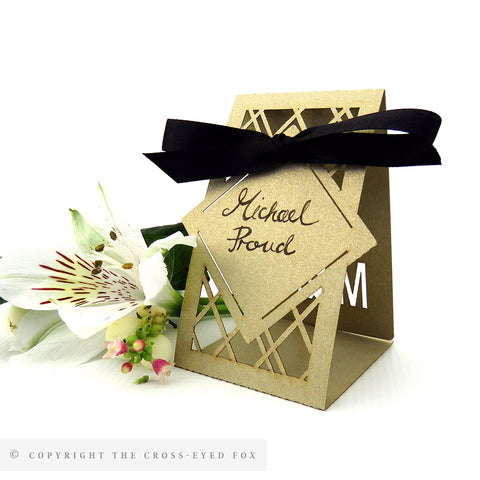 Modern Geometric Place Cards