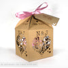 Floral Hearts 'I Do' Extra Large Favour Box | Cupcake Box