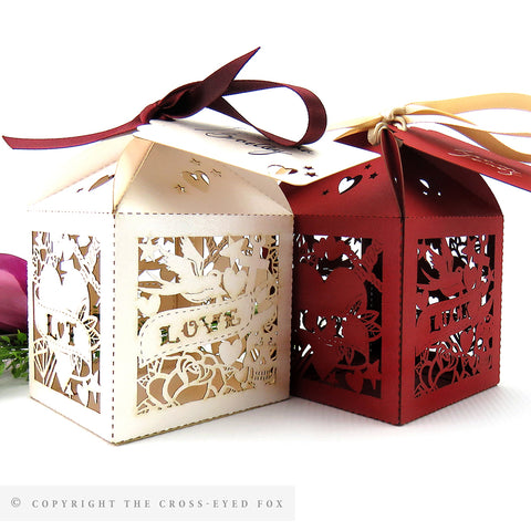 Rockabilly Personalised Favour Boxes