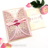 Vintage Roses Wedding Invitation Gatefold Jacket