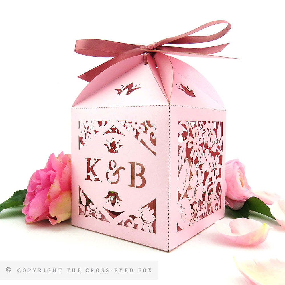 Vintage Roses Extra Large Favour Box | Cupcake Box – The Cross-Eyed Fox