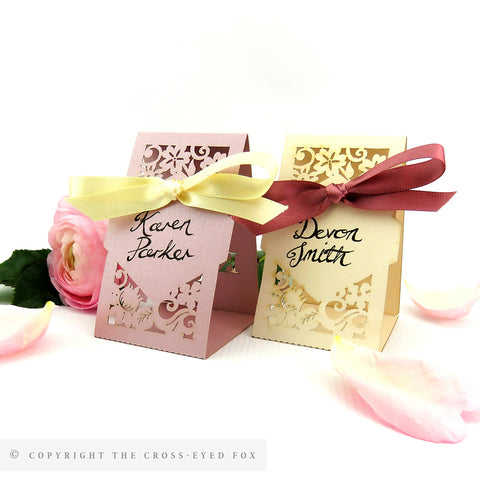 Vintage Roses Place Cards