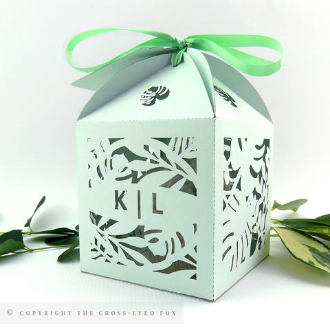 Botanical Extra Large Favour Box | Cupcake Box