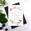 Country Brambles Wedding Save the Date Cards