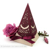 English Country Garden Pyramid Personalised Favour Boxes