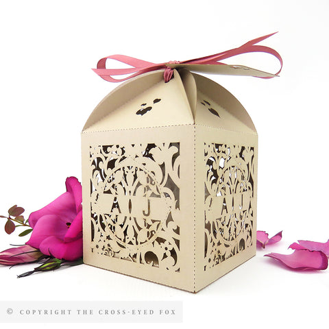English Garden Extra Large Favour Box | Cupcake Box