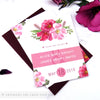 English Country Garden Wedding Save the Date Cards