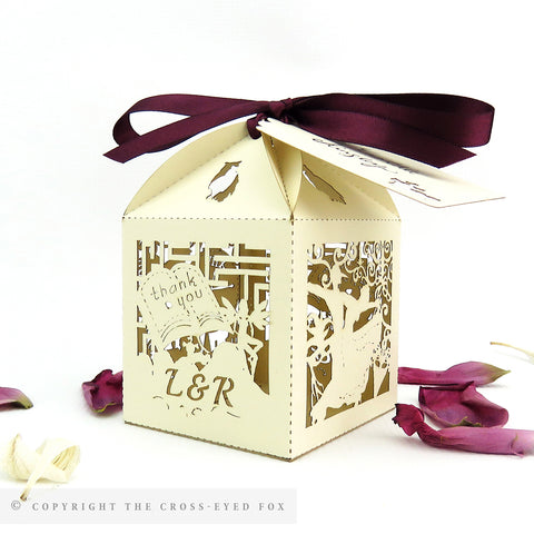 Labyrinth Personalised Favour Boxes