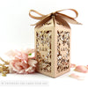 Vintage Love Birds Tall Personalised Favour/Bottle Boxes
