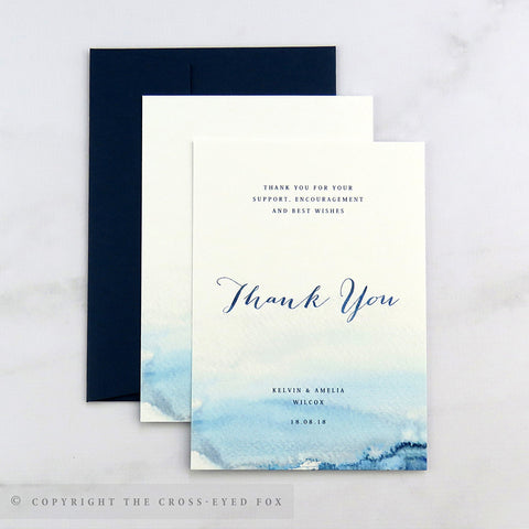 Nautical Wedding Thank You Cards